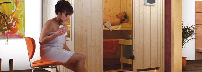 Sauna zu Hause