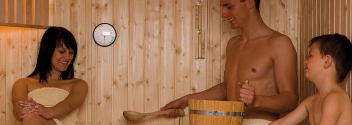 günstige Sauna